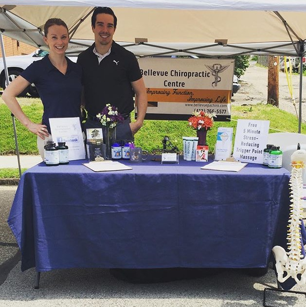 Chiropractor Bellevue PA William Walsh and Bridget Walsh at Event